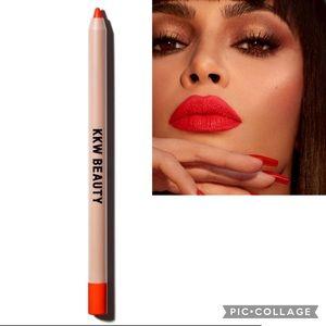 NIB KKW BEAUTY Lip Liner Red 2
